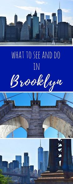 What to see and do in Brooklyn, NYC!