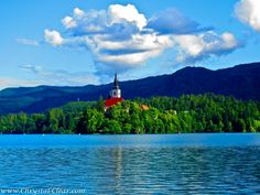 Pilgrimage Church of the Assumption of Mary at Lake Bled, Slovenia