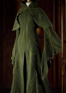 Haunted Elven Coat & Camilina Capelet