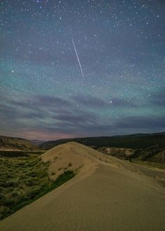 Night Sky at Farwell Canyon - Daryl Bell