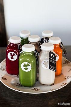 Vive juicery healthy drinks напитки еда แ ล ะ упаковка Healthy Juice Recipes, Healthy Juices, Healthy Drinks, Juicer Recipes, Detox Recipes, Fruit Recipes, Salad Recipes, Juice Logo, Juice Branding