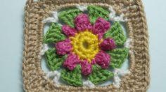 How To Make A Crochet Granny Square Blanket Motif - DIY Crafts Tutorial ...