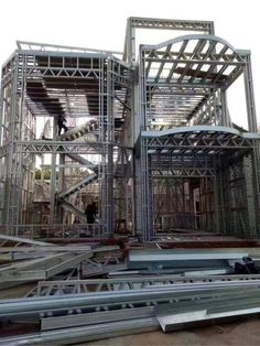 Type 1B: Steel Frame House, Steel House, Architectural Engineering, Building Systems, Metal Structure, Steel Buildings, Property Management, Welding, Metals