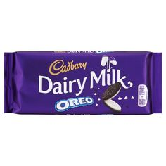 Cadbury Dairy Milk Oreo Chocolate Bar 120G - Groceries - Tesco Groceries