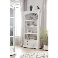 Shop for NovaSolo Provence White Mahogany Bookcase. Get free shipping at Overstock.com - Your Online Furniture Outlet Store! Get 5% in rewards with Club O!