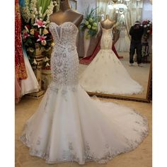 Cheap dresses panties, Buy Quality dress protection directly from China dress david Suppliers: In Stock Appliques Beading Lace Wedding Dresses Scoop Neckline Court Train Sleeveless Mermaid Bridal Dresses Vestido De