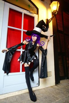 Soul Eater: Blair Cosplay those shoes will be a pain in the butt.