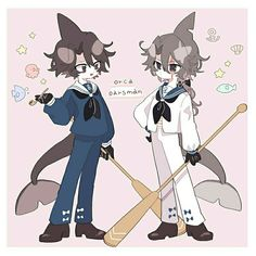 Idate and Takama Chibi, Character Art, Character Design, Ice Scream, Epic Characters, Fandom, Rpg Horror Games, Grey Gardens, Rpg Maker