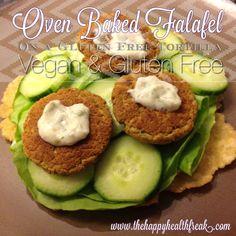 Double Recipe! Oven Baked Falafels and GF Tortilla ~ Vegan & Gluten Free