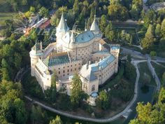 Bojnice castle, Slovakia, Europe - one of the most beautiful castles in Europe - just ideal for your wedding