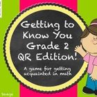 Getting to know ou Gr. 2 Qr edition! During this activity, students will learn about ten of their new classmates with QR codes and do a little math along the way!