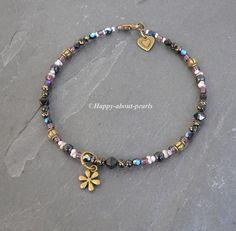 Fußkettchen von Happy-about-Pearls Trendschmuck & Accessoires auf DaWanda.com