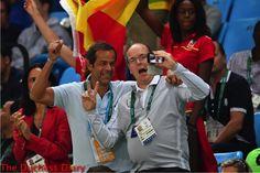 prince albert monaco selfie mens basketball match rio olympics