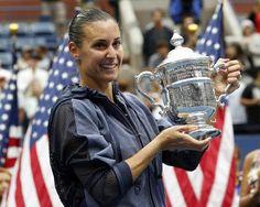 Flavia Pennetta se proclamó campeona del US Open 2015 tras derrotar a su compatriota Roberta Vinci en dos sets por 6-7 y 2-6. Pennetta demostró mayor concentración en las rondas finales, derrotando a dos de las tres primeras cabezas de serie, y en la final supo aguantar un primer set bastante igualado para sentenciar a Vinci en el segundo con un rotundo 2-6.