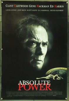 ABSOLUTE POWER (1997) 19291 Original Columbia Pictures One Sheet Poster (27x41) .  Rolled.  Very Fine.