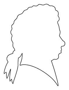 Mozart pattern. Use the printable outline for crafts, creating stencils, scrapbooking, and more. Free PDF template to download and print at http://patternuniverse.com/download/mozart-pattern/
