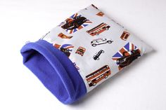 Cool Britannia Snuggle Pocket designed for single guinea pigs, hedgehogs, small rabbits, rats, ferrets etc Full range of our stylish and fun items can be found at http://www.candecosies.co.uk