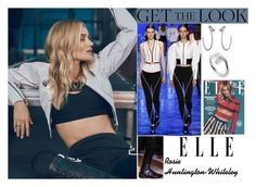"""""""Rosie Huntington-Whiteley Elle UK January 2017 #5"""" by valenlss ❤ liked on Polyvore featuring Thierry Mugler, Cartier and Whiteley"""