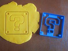 Question Block/Super Mario Cookie Cutter by Francesca4me on Etsy, $7.00 https://www.etsy.com/shop/Francesca4me
