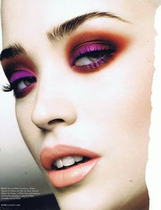 Samantha Lennon Blog of Makeup & Beauty: 5 a day... Makeup Tear Sheets From The Past