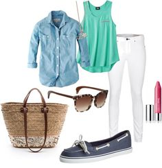 Preppy Summer by tkw123 on Polyvore