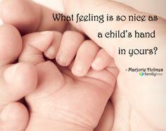 What feeling is so nice...