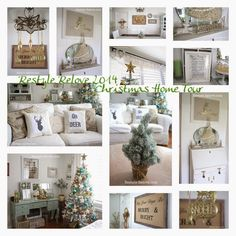 Restyle Relove: 2014 Christmas Home Tour
