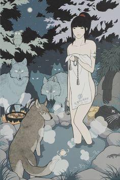 くのいち風呂/KUNOICHI BURO (Female Ninja Bath)