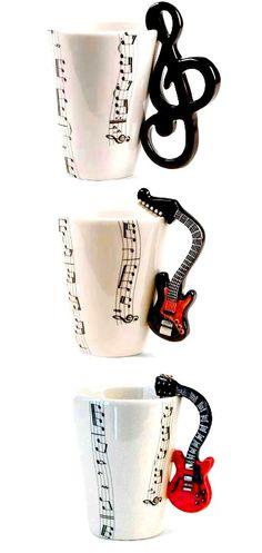 ☕ Guitar coffee mugs ☕