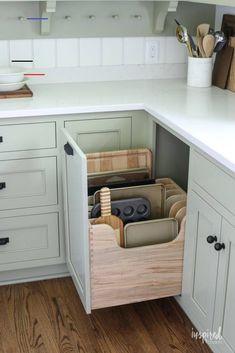 Bayberry Kitchen Remodel Reveal - Inspired by Charm Kitchen Makeover - #kitchenorganization Home Design, Küchen Design, Layout Design, Design Trends, Design Ideas, Modern Design, Design Concepts, Design Styles, Decor Styles