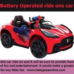 batttery operated ride ons car: Perfect Presents For child- Battery Operated cars