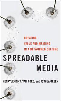 "Capa do livro ""Spreadable Media"" (2013)."
