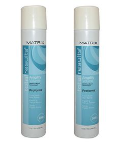 Another great find on #zulily! Amplify Hairspray - Set of Two #zulilyfinds