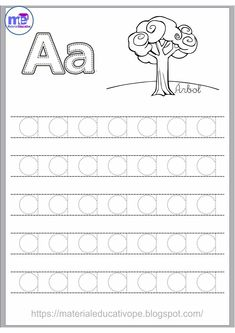 Fun Worksheets for Kids Preschool Writing, Numbers Preschool, Preschool Learning Activities, Preschool Letters, Fun Worksheets For Kids, Kindergarten Math Worksheets, Math For Kids, Learning English For Kids, English Lessons For Kids