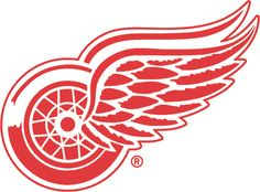 I'm a real Detroit Red Wings hockey fan. I love that team! Detroit really loves it's hockey,so much so,it's called hockey town. (This is the teams logo,btw)! Go Red, Go Blue, Detroit Red Wings, Detroit Michigan, Detroit Area, Red Wing Logo, Red Wings Hockey, Detroit Sports, Detroit Hockey