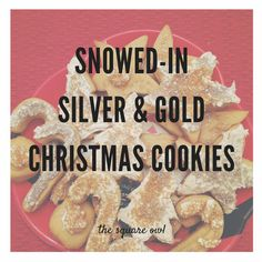 The Square Owl - Snowed-In Silver & Gold Christmas Cookies