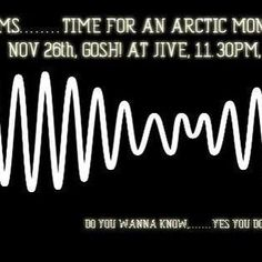 djcraig/2016/11/24 16:25:49/This Saturday, end of exams and time to party with an Arctic Monkeys Master Session, with DJ Craig playing Arctic Monkeys tunes on high rotation in addition to the usual mix of indie tunes you know and love. Special early opening time of 10.30pm as well, and still only $5 entry. Do you wanna come..... yes you do. Get on your dancing shoes because I bet you look good on the dance floor. #indiemusic #getoutofthehouse #indienight #indieclub #indie #arcticmonkeys…