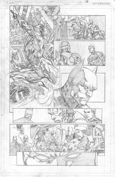Justice league#19- pencil