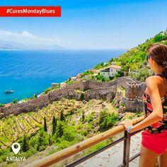 Не історія, море або сонце прикрасять ваш понеділок, а просто Анталія. Це все, що вам потрібно. #CuresMondayBlues