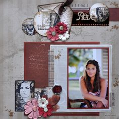 Une page en Lorelaï design