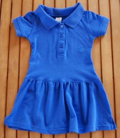 Convert a ladies polo shirt into a dress in 15 mins.