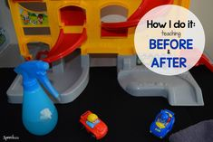 Practical ideas for teaching before and after from @speech2u.com