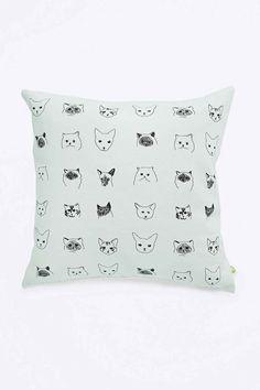 Baines & Fricker Cat Cushion #UOonCampus #UOContest
