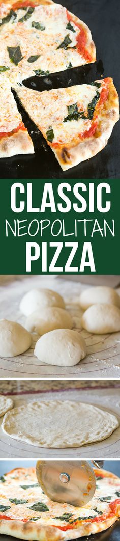 This Neapolitan pizza crust is thin, crispy and has the most amazing flavor. My…