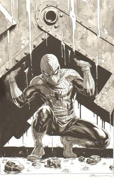Classic Spidey by Lee Bermejo (after Romita Sr.)
