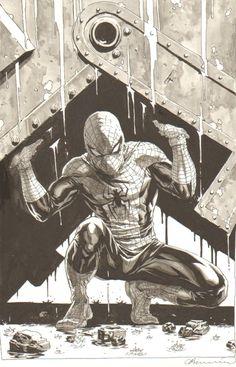 Lee Bermejo Comic Art << One of the greatest scenes in comic book history.