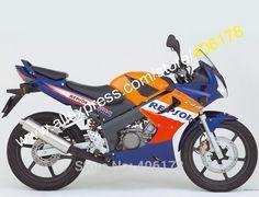 417.05$  Watch here - http://alicpj.worldwells.pw/go.php?t=1859938669 - Hot Sales,Repsol For HONDA CBR125R 02-06 CBR125RR CBR 125R 125RR CBR125 R 2002 2003 2004 2005 2006 Motorcycle Fairings set