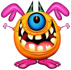 Crazy Scary Monsters   ... monsters final scary monster cartoon stock photo 97058072 shutterstock