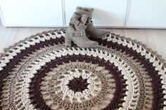 catifa · alfombra trapillo #crochet XL