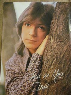 David Cassidy, Full Page Vintage Pinup. Sweet memories. I had this one.